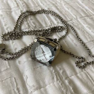 Marc by Marc Jacobs Enamel Watch Ring Necklace